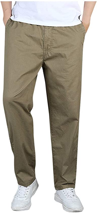 Pantalones Hombre Verano Suelto Tallas Grandes Al Aire Libre ...