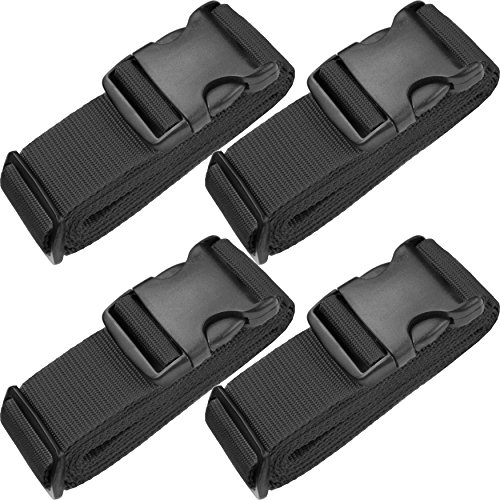 TRANVERS Luggage Straps For Baggage Belt Upright Security Belt Heavy Duty 4-Pack...