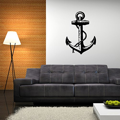 "Anchor Sail Nautical Inspired Décor Wall Decal - 24"" x 17"""