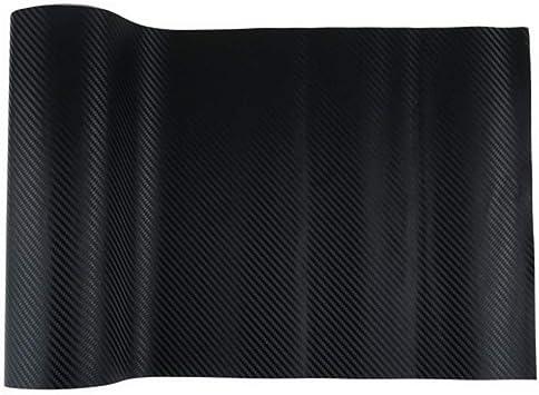 3D Carbon Fiber Texture Film Black Wrap Car Vinyl Film Waterproof Film Decor