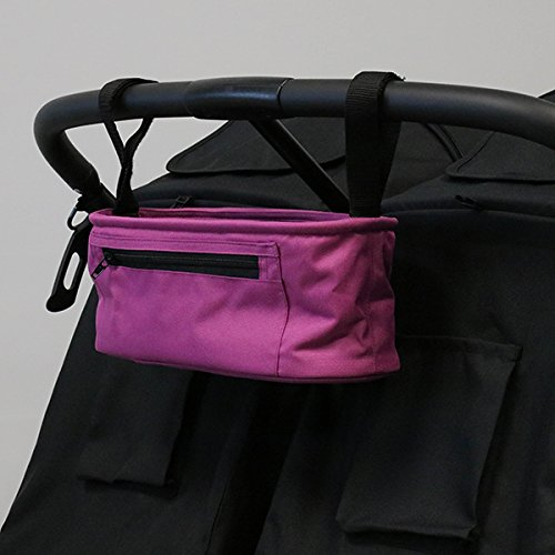 ZOE BEST Universal Stroller Parent Organizer Console (Eloise Plum)