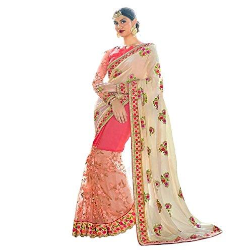 Ceremony Wedding Bridal Saree Dress Wedding Party Wear Women Sari Ethnic  Designer Indian 9211