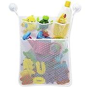Amrka Baby Kids Bathroom Bathtub Toy Mesh Net Storage Bag Organizer Holder Stuff Tidy