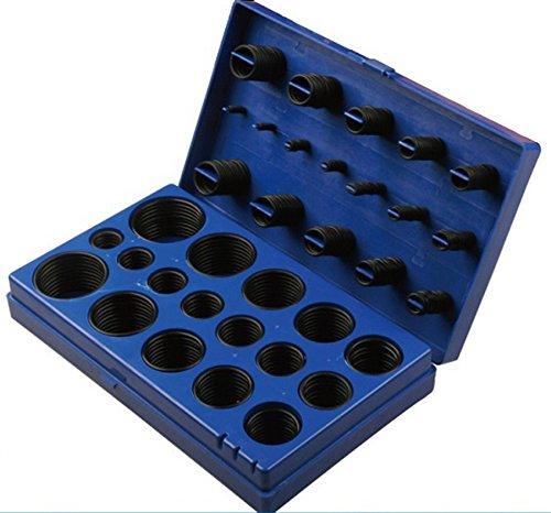 HFS (R) 419pc Universal O-Ring Assortment Set Metric Kit Automotive Seal Rubber Gasket