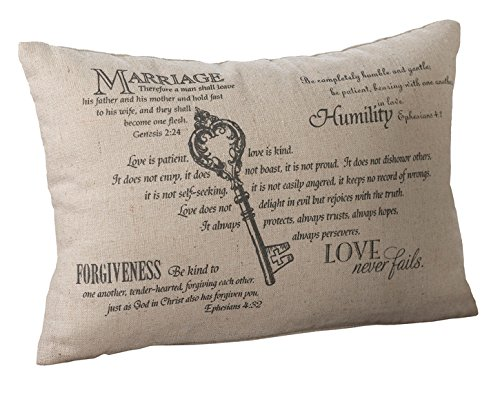 Lillian Rose Christian Wedding Pillow product image