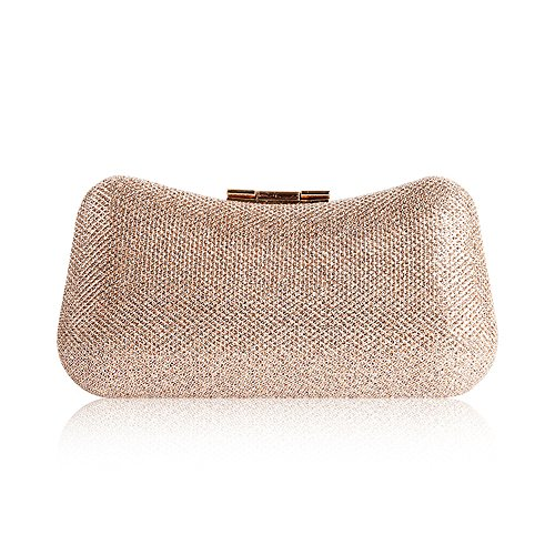 Clutch Crossbody Luxury Bag Banquet Bag Party Bag Bag Cosmetic Shoulder Color Lady Champagne Casual Red qSxwxXF4
