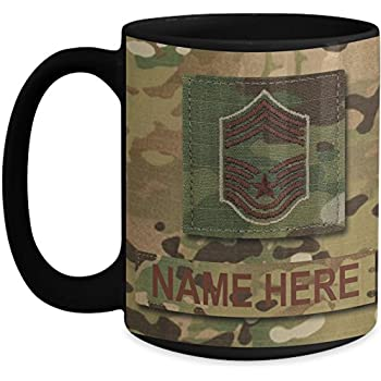 Air Force Master Sergeant Coffee Mug