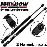 Partsam 2PCS Rear Door Hatch Liftgate Gate Lift Trunk Supports Shock Strut Arms For 01-08 PT CRUISER