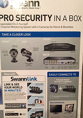 Amazon.com: Swann Home Pro Day/Night Security Camera Kit: Home Improvement