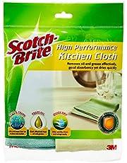 Scotch-Brite T109C High Performance Kitchen Cloth, Random, Pack of 2