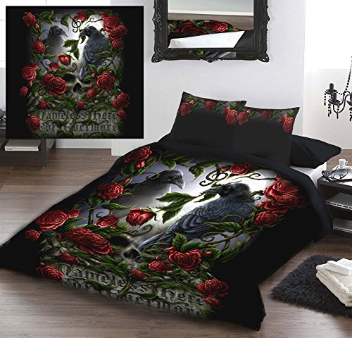 Wild Star Home FOREVERMORE Double Bed Duvet U0026 Pillow Protector Set