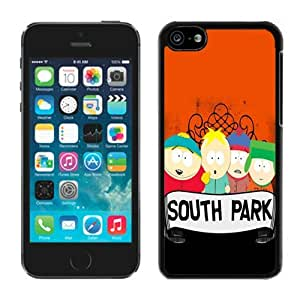Beautiful DIY Designed With South Park Cover Case For iPhone 5c Black Phone Case CR-585