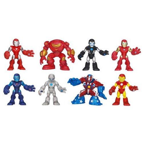 Playskool Heroes Super Hero Adventures Hall Of Armor Stealth Iron Man