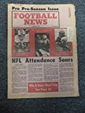 Vintage FOOTBALL NEWS NEWSPAPER SEPTEMBER 4 1973 PRE SEASON ISSUE LARRY CSONKA