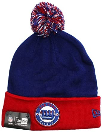 aa0dacef4b5 New Era Circle Knit Beanie - New York Giants  Amazon.co.uk  Clothing