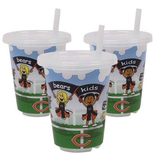 NFL Chicago Bears Baby Fanatic Sip N Go Cups (3-Pack)