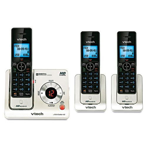 - 3 Handset Cordless Answering System with Caller ID