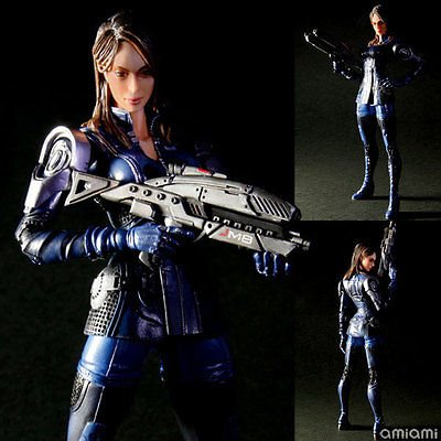 TONGROU Mass Effect 3 Ashley Williams P.A.K. Play Arts KAI Action Figure Japan Anime 099