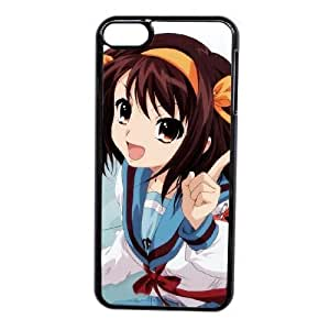 Generic Fashion Hard Back Case Cover Fit for iPod touch 6 case black The melancholy of SUZUMIYA HARUHI NUR-1729556