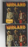 #2: Midland On The Rocks- Autographed Signed CD Booklet With Sealed CD