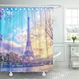 Makeover your bathroom with just a single touch! Start with these fun and decorative shower curtains. Our unique & modern designs match well with various color palettes of towels, rugs, bathroom mats and any other bathroom accessories. Its a quic...