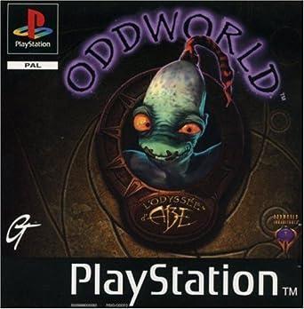 Oddworld: Abe's Oddysee ps1 box