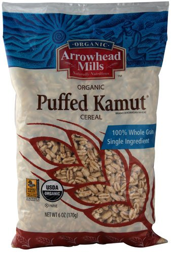 Arrowhead Mills Organic Puffed Kamut Cereal [Pack of 3]