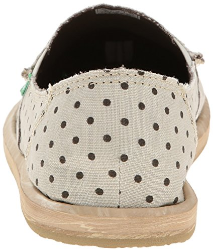 Natural Dotty Hot Dots brown Flat Sanuk Women's wIA060