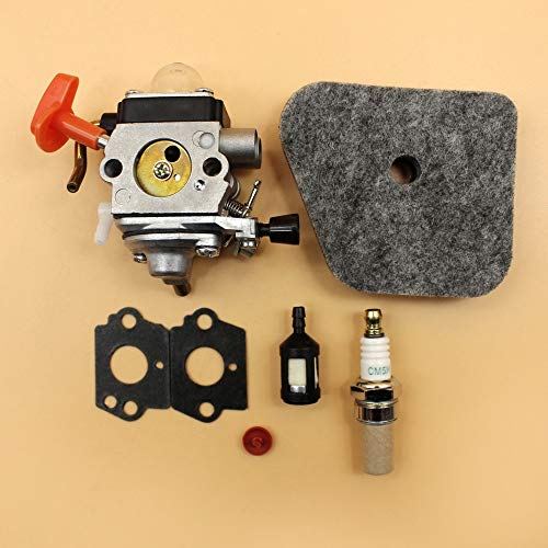 HUNACA Grass Trimmer | Carburetor Air Filter Service Kit Fit STIHL FS87 FS90 R FS100 FS110 FS130 R FC 90 95 100 HL100 KM90 KM100 Strimmer Parts