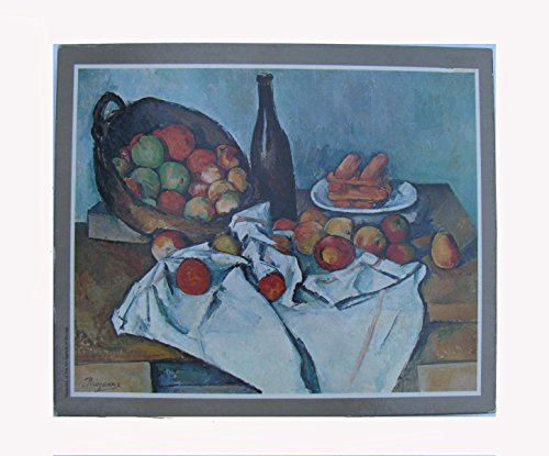 Golden Jigsaw Puzzles Masterpiece Series - The Basket of Apples by Paul Cezanne, 1000 Pieces, #1890-94 (Cezanne Basket Of Apples)