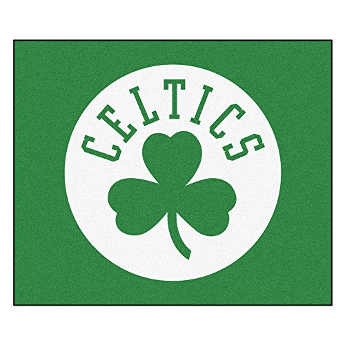 FANMATS 19427 NBA - Boston Celtics Tailgater Rug , Team Color, 59.5''x71'' by Fanmats