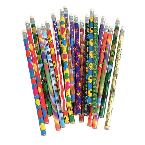 Assorted Colorful Kids Pencils Pack