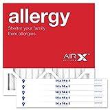 AIRx ALLERGY 14x14x1 MERV 11 Pleated Air Filter