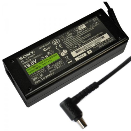 SONY charger 19.5V / 4.7 A (90Watt), VGP-AC19V10, VGP-AC19V11, VGP-AC19V12, VGP-AC19V13, VGP-AC19V19, VGP-AC19V20, VGP-AC19V24, VGP-AC19V25, VGP-AC19V26, VGP-AC19V28, for LAPTOPs SONY VAIO PCG-6, PCG-9, PCG-900, PCG-F, PCG-GR, PCG-Z, PCG-ZR, VGN-A, VGN-B, VGN-C, VGN-E, VGN-F, VGN-FE, VGN-N, VGN-S, VGN-SZ Serien, AC Adapter, including Power cable