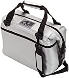 ao cooler vinyl - AO Coolers Carbon Soft Cooler with High-Density Insulation, Silver, 24-Can