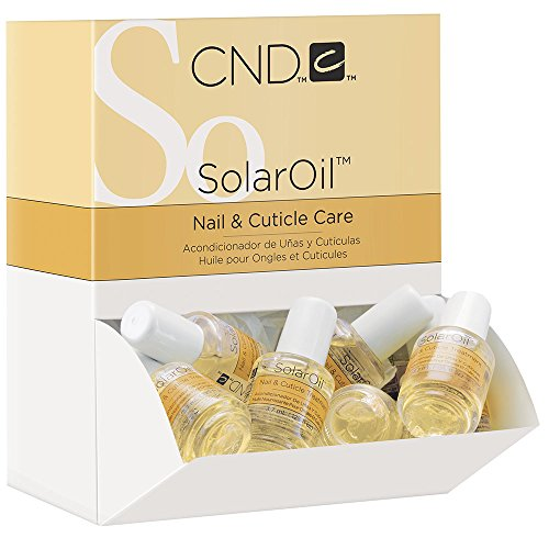 CND Travel Sized Solar Oil Cuticle Conditioner, 0.12 Fl Oz (Solar Oil)