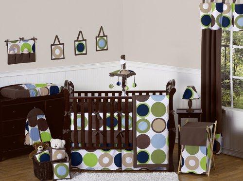 Designer Dot Musical Baby Crib Mobile by Sweet Jojo Designs