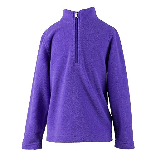 Obermeyer Kids Unisex Ultragear 100 Micro Zip-T (Toddler/Little Kids/Big Kids) Grapesicle Sweatshirt XS (1/2 Toddler)