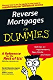Reverse Mortgages For Dummies by Sarah Glendon Lyons (2005-06-24)