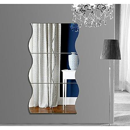 décoration et CuisineMaison 3D Pcs chenpaif Ameublement 6 DYE9H2WI
