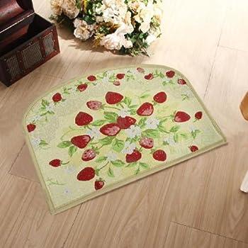 Amazon.com: Joyci Strawberry Kitchen Rugs Slip-resistant ...