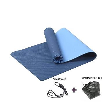 KQKLQQ Yoga Mat Antideslizante con Textura de Superficie ...