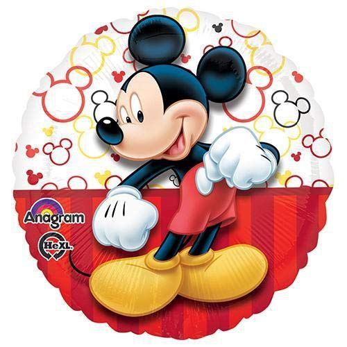 (Anagram 30645 Mickey Portrait-Full Body Foil Balloon, 18