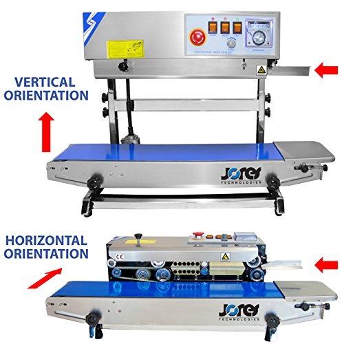 JORESTECH Continuous Band Sealer CBS-730I (Stainless Steel) 220 Volts