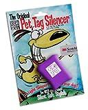 Purple Pet Tag Silencer (1.5 x 2), My Pet Supplies