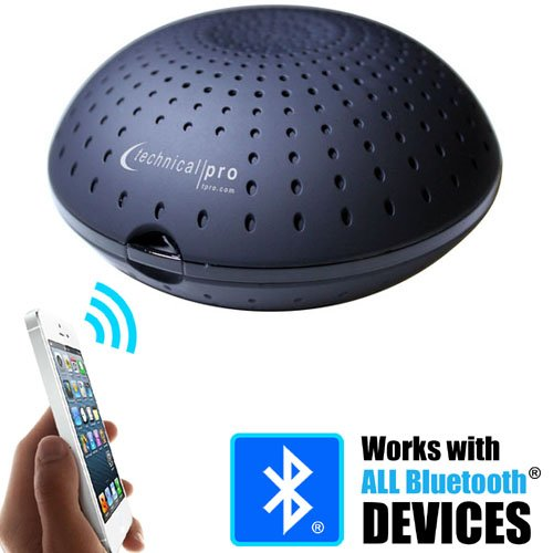 Powered Bluetooth Loudspeaker for Iphone Android Blue Tooth Connection by Technical Pro