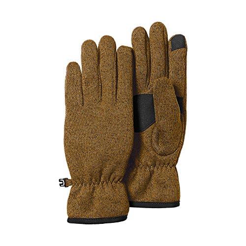 Eddie Bauer Women's Radiator Fleece Gloves, Aged Brass L/XL