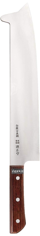 遠藤商事 業務用 すべり止め付冷凍庖丁 30cm 白銀安来鋼 日本製 ALI23030 B001TPC65W