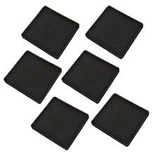 HQRP 30 ppi Foam Pads (Pack of 6) for Rena Filstar XP1 / XP2 / XP3 / XP4 / XPS / XPM / XPL / XPXL Aquarium Canister Filter + HQRP Coaster