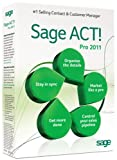 Software : Sage ACT! Pro 2011 [Old Version]
